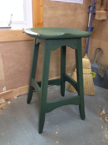 Completed Bench Stool